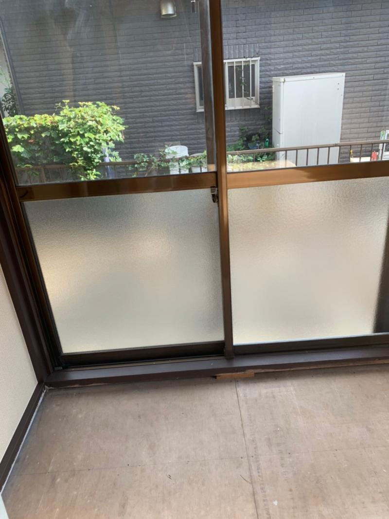 窓リフォーム工事 硝子交換