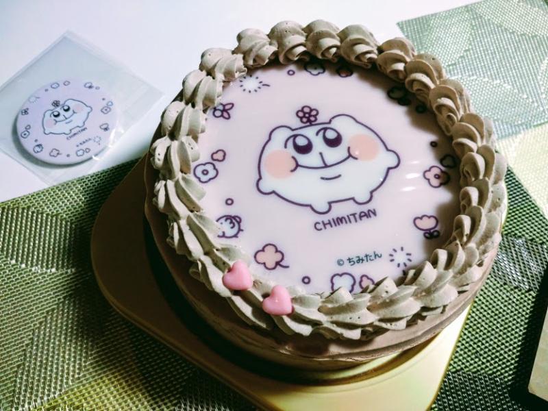 【誕生日】プリロールのキャラケーキって美味しいの?ちみたん四つ切の儀【良さが良いね】