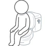 トイレ改装工事進行中