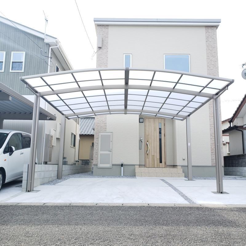 延岡市 M様邸 2台用カーポート施工事例 リフォーム例