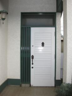 リシェントで玄関...