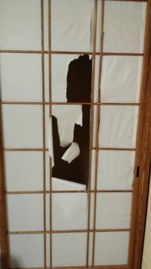 木製建具の修理