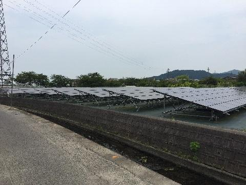50Kw6区画で初めて...